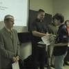 vítež Geocup 2006 - Jan Harbula přebírá cenu