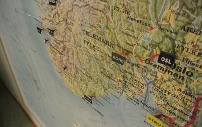 Mapování zemětřesení ve Skandinávii – stáž v Bergenu